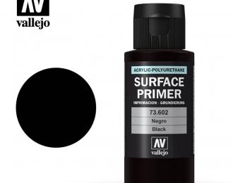 Акриловый грунт-полиуретановый/Черный, 60мл.