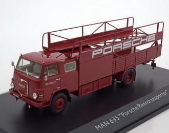 """MAN 635 """"Porsche Renntransporter"""" 1966"""