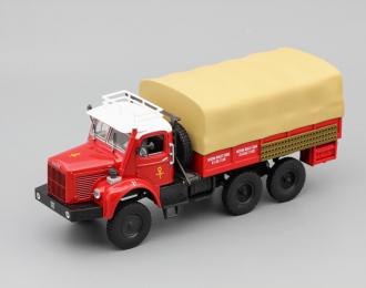 (Уценка!) BERLIET GBC 8 6x6, red / white