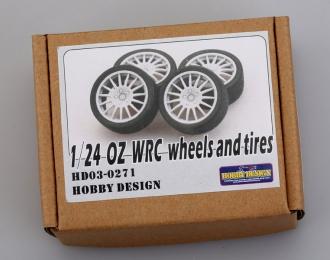 Набор для доработки - Диски с резиной OZ WRC