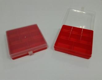 Блок для хранения 15*15*4 с отделениями