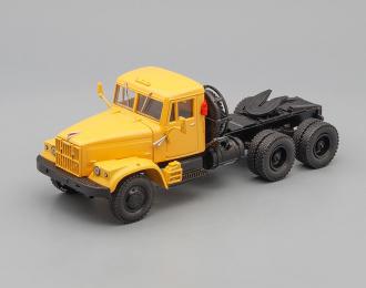 КРАЗ 258Б седельный тягач (1969-1977), желтый