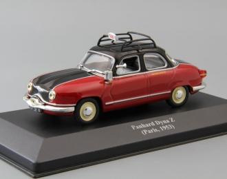 (Уценка!) PANHARD Dyna Z (Paris, 1953), Collection Les Taxis du monde, red / black