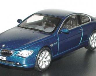 BMW 6er Coupe E63 (2003), mystic blau met.