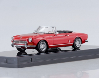 FIAT 124 Spider BS (1970), red