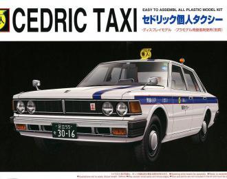 Сборная модель Nissan 430 Cedric Sedan Taxi