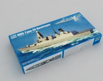 Сборная модель Британский эсминец HMS Type 45