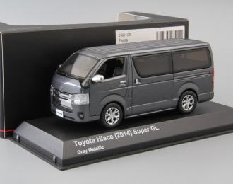 TOYOTA Hiace Super GL (2014), grey metallic