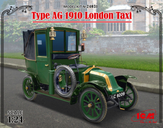 Сборная модель Лондонское такси модели AG 1910 г.