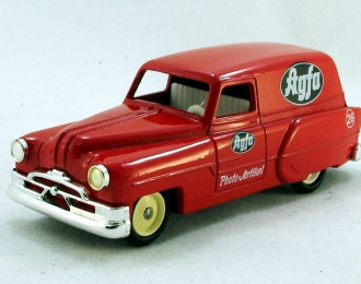 """PONTIAC Delivery Van """"Agfa Films"""" (1953), Days Gone Vanguards: Fifties and Sixties Classic Collection, красный"""