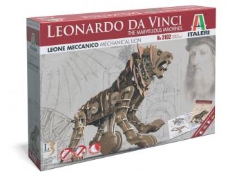 Сборная модель Механический лев (Серия Леонардо Да Винчи)