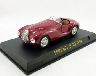 FERRARI Auto Avio Construzioni 815, Ferrari Collection 34, red