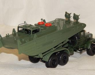 Набор для конверсии Транспортировщик буксирно-моторного катера БМК-Т на базе КРАЗ-255