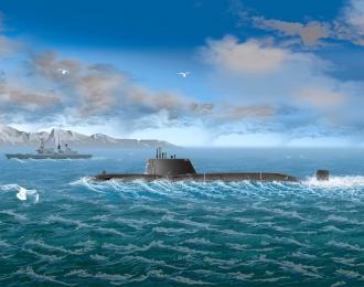 Сборная модель Подводная лодка HMS Astute