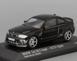 BMW 1 Series M Coupe ACS1 Sport Coupe (2011), black metallic
