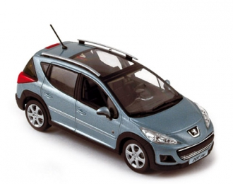 PEUGEOT 207 SW outdoor (кроссовер)  2009, blue