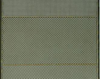 Фототравление Набор из 3 сеток с шагом 0.8 мм, латунь 0.16 мм