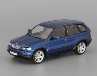 BMW X5 4.4i E53 (1999), blue