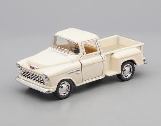 CHEVROLET Stepside Pick-up (1955), creme