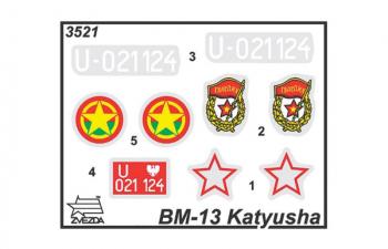 """Сборная модель БМ-13 """"Катюша"""""""