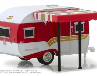 кемпер-трейлер CATOLAC DeVille 1959 Red and White