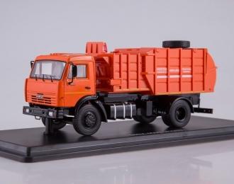 МКМ-4503 (на базе КАМАЗ-45253), оранжевый