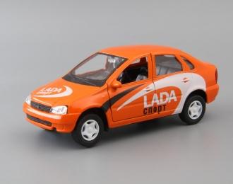 LADA Kalina Спорт, orange