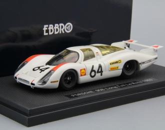 PORSCHE 908 Long Rail Le Mans #64 (1969), white