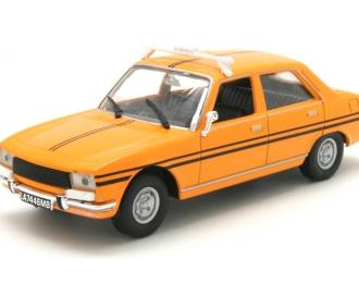 PEUGEOT 504 Lagos (1977), Taksowki Swiata 14, yellow