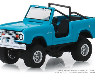 FORD Bronco Teal 4x4 1967 Blue