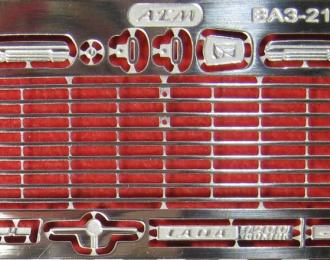 Фототравление Набор для ВАЗ-2102, никелирование