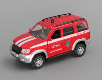 УАЗ Патриот Пожарная Охрана, красный