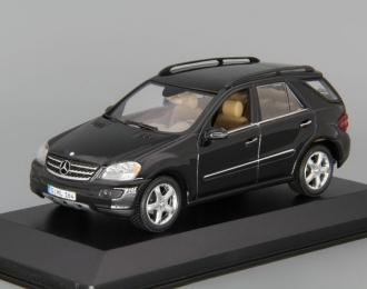 MERCEDES-BENZ M-Class W164 (2005), black absidiant