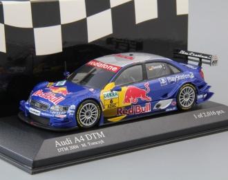 AUDI A4 DTM Audi Sport Team Abt M. Tomczyk #6 (2004), blue