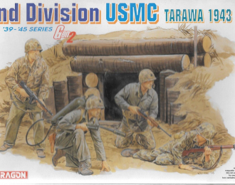 Сборная модель Фигуры USMC 2nd Division (Tarawa 1943)