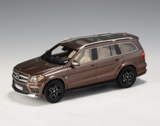 MERCEDES-BENZ AMG GL63 (X166) 2015 Metallic Brown