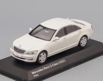 MERCEDES-BENZ S600L V221 (2012), white