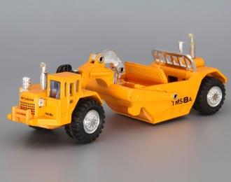 MITSUBISHI Hydraulic Motor Scraper, yellow