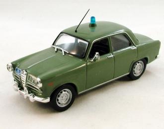 (Уценка!) ALFA ROMEO Giulietta, Полицейские Машины Мира 14, зеленый