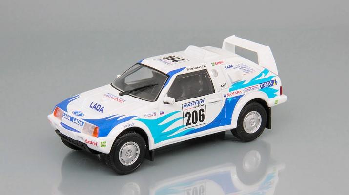 ЛАДА Самара Т3 #206, Автоспорт СССР 3, белый