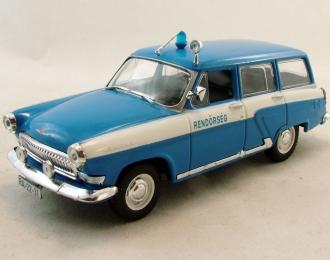 Горький 22  Полиция Венгрии, Полицейские Машины Мира 34, бело-голубой
