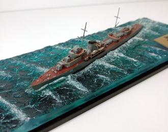 Эсминец Гневный в море