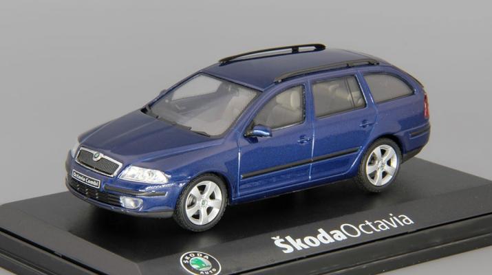 SKODA Octavia Combi (2004), blue dynamic