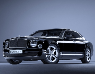 Bentley Mulsanne Speed 2014 (onyx)
