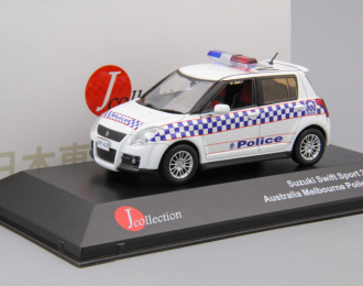 SUZUKI Swift Melbourne Police (2010), white