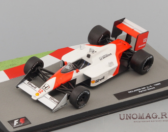 (Уценка!) McLaren MP4/4 1988 as driven by Ayrton Senna, Formula 1 Auto Collection 1