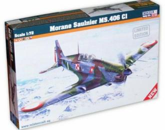 Сборная модель Самолет Morane Saulnier MS.406 CI