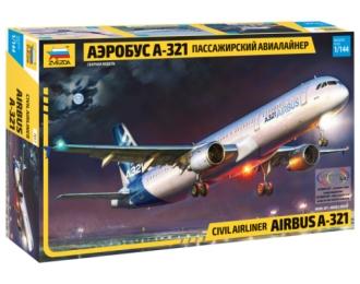 Сборная модель Аэробус А-321