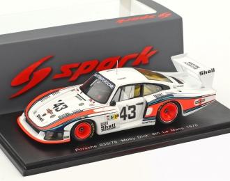 PORSCHE 935//78 MOBY DICK #43 LE MANS 1978 SPARK S4162 1:43
