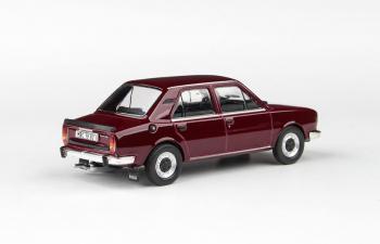Škoda 120L 1982 - Červená Maron - Abrex 1:43